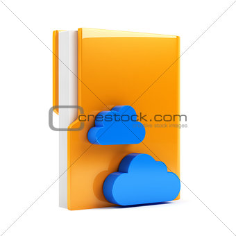 Folder with cloud icon