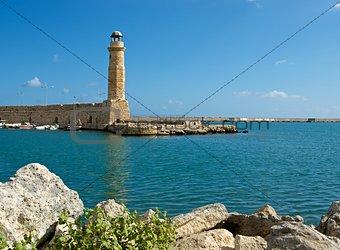Old lighthouse. Rethymno.