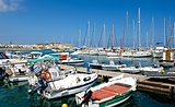 The marina in Rethymnon.