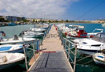 City marina.