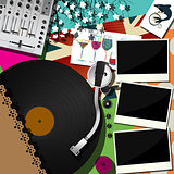 DJ party design