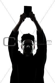 man priest wrath of god silhouette
