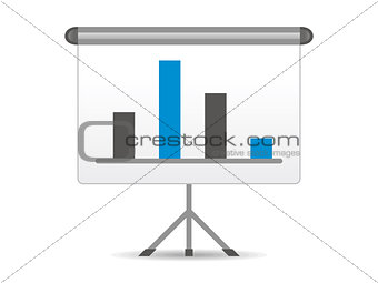 abstract chart icon