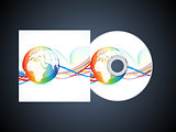 abstract corporate cd template