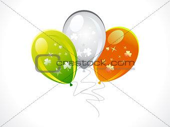 abstract st patricks balloons set