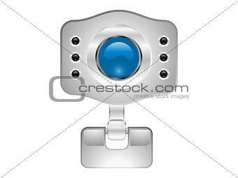 abstract web camera icon