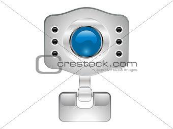 abstract web camera icon