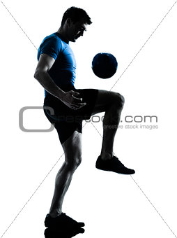 man soccer football player
