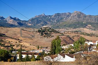 small Spanish village
