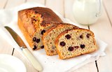 Berry and Oat Cake Loaf