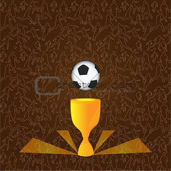 Background for soccer
