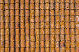 Brown shingles on a house - like texture