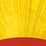 Grunge sunrays aged background. Vector, EPS10