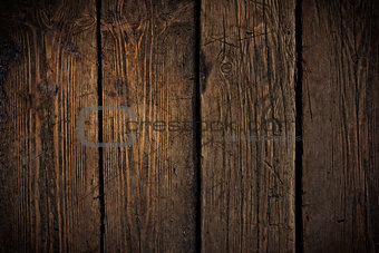 Old scratched wooden texture. May use for grunge styled design w