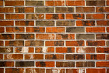 Multi-colored Brick wall