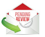 pending review e mail