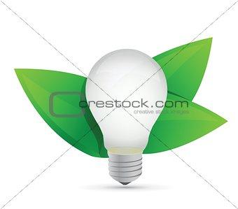 green eco energy concept. Idea growing