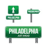 philadelphia city road sign