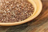 chia seeds close-up