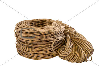 Twisted paper cord roll,flax rope