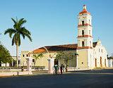 San Juan Bautista de Remedios's Church, Parque Marti, Remedios,