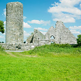 ruins of Drumlane Monastery, County Cavan, Ireland