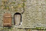 Estonia - Tallinn Old Town - Fortress Wall And Door - Europe Travel Destination