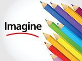 Imagine Multicolored pencils