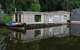houseboats in canal