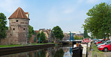 canal in Zwolle, Netherlands