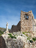 Church in the rock in Mijas in Spain