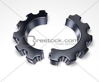 broken cogwheel
