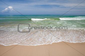 nice clean tropical beach