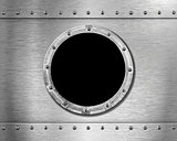 metal ship porthole