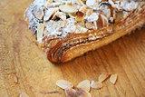 Almond chocolate croissant