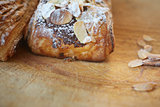 Almond chocolate croissant