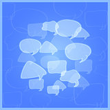 Social Networking Media Chat Icons.