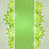 Green Abstract Designr Card