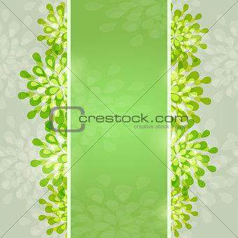 Green Abstract Designr Card