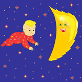 Moon In Baby Dreaming