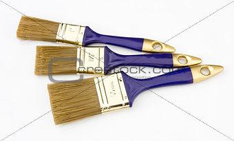 Three new paintbrushes