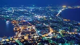 Hakodate, Japan View