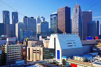 Tokyo Cityscape at Shinjuku Ward