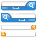 Two types of search bar design