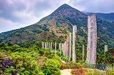 Wisdom Path on Lantau Island, Hong Kong