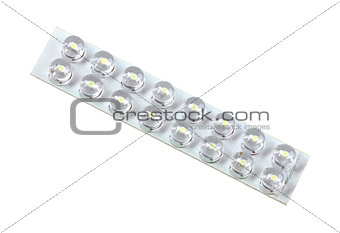 Panel of energy-saving LED lamp