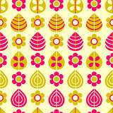 Simple Floral Seamless Pattern