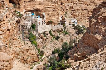 Monastery of St. George in Palestine.