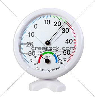 Circle thermo-hygromete