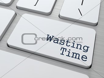 Wasting Time Concept.